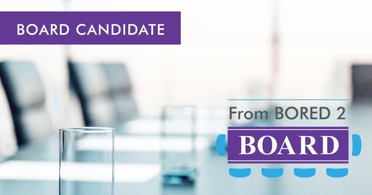 Board Candidate